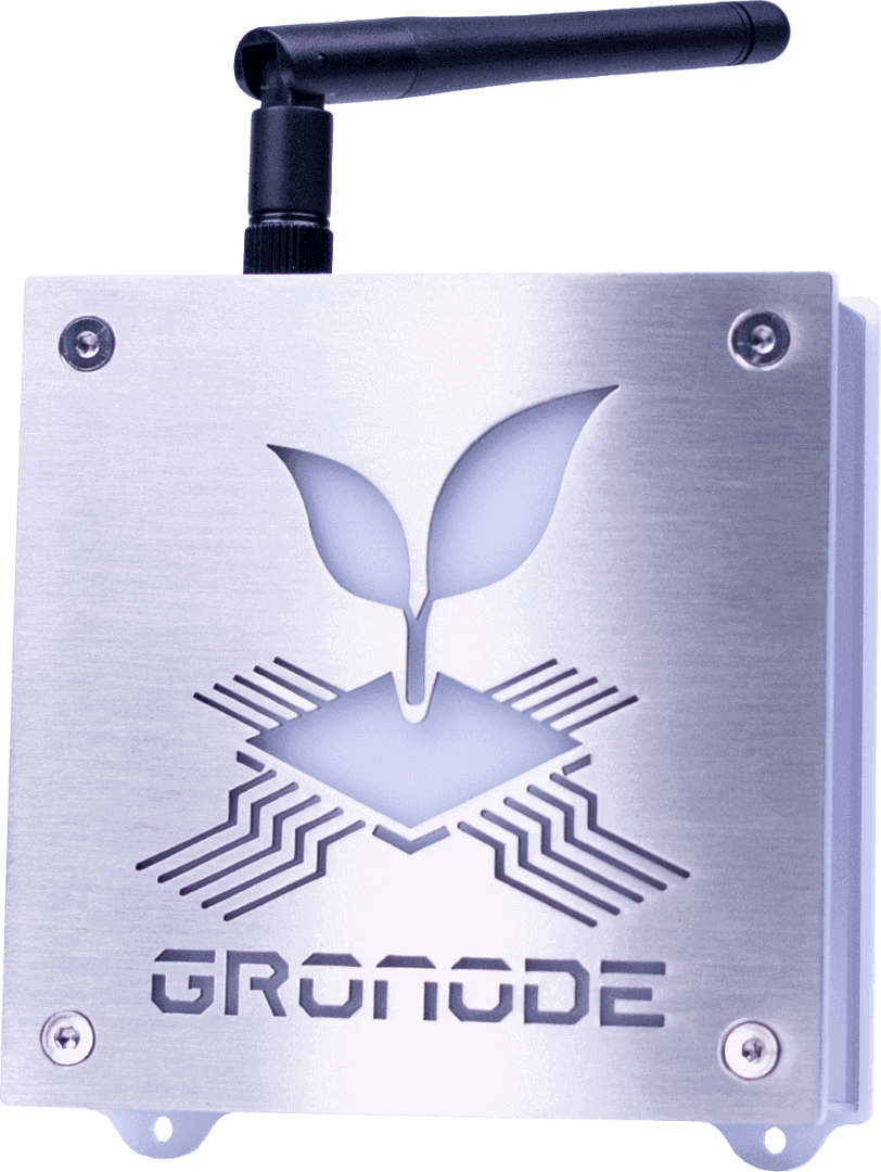 GroNode, the brain module from GroLab grow controller system.